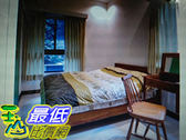 [COSCO代購] 優渥實木柚木系列新A款雙人標準床架 _W112686