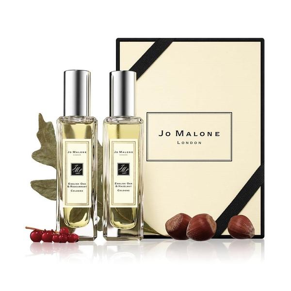 【南紡購物中心】JO MALONE 英國橡樹經典香氛組 橡樹與紅醋栗+橡樹與榛果 30ml