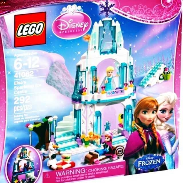 LEGO 樂高 迪士尼公主系列 Elsa's Sparkling Ice Castle艾莎的閃亮冰雪城堡 41062