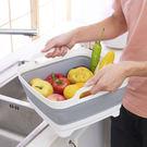 可折疊蔬果清洗移動水槽 YM3040
