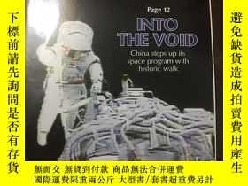 二手書博民逛書店Beijing罕見Review 北京周報 2008 10 9 into the voidY459670