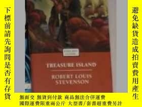 二手書博民逛書店英文原版罕見Treasure Island by Robert