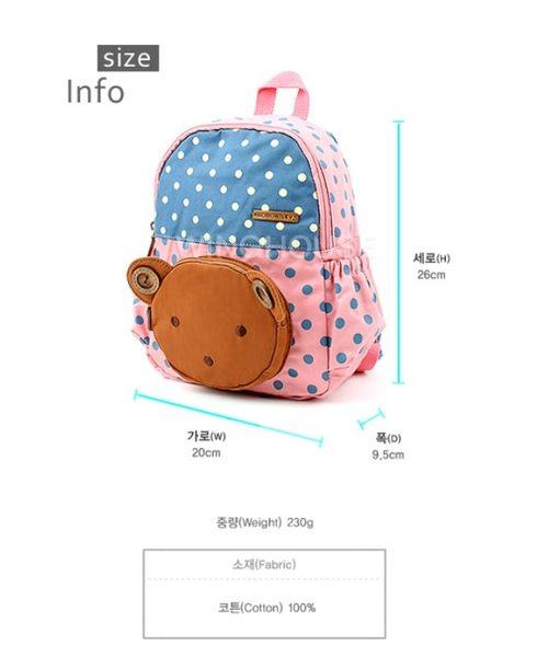 【韓國空運正韓童裝】韓國MOMOAILEY品牌--多功能防走失背包【MA063】