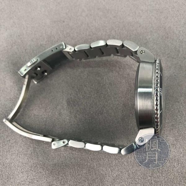 BRAND楓月 ORIS 豪利時 07 8 18 05P AQUIS 日期錶 黑面盤銀錶 不鏽鋼錶殼 手錶 腕錶