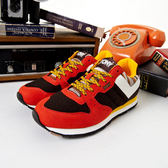 My Foot〔PONY ﹞SOLA-V系列 暖冬推薦針織設計特色慢跑鞋-活力橘44W1SO72CF