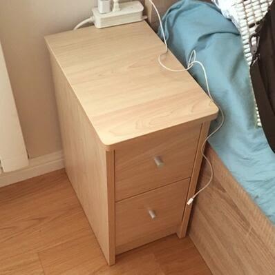【臥室神器】30cm迷你床頭櫃小戶型超窄邊櫃