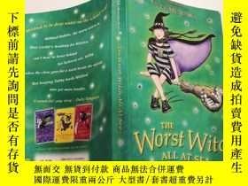 二手書博民逛書店THE罕見Worst Witch All At Sea:海上最壞的女巫.Y200392