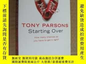 二手書博民逛書店Starting罕見OverY146810 Tony Parso