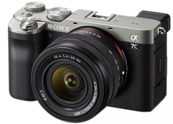 【震博攝影】SONY ILCE-A7C+28-60mm單鏡組(分期0利率;台灣索尼公司貨)A7CL送清潔組
