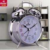 夜光床頭靜音學生鬧鐘創意簡約時鐘臥室卡通兒童電子多功能小鬧鐘