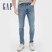 Gap男裝淺色水洗五口袋牛仔褲539151-中度靛藍