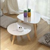 簡約日式榻榻米實木小茶几北歐烤漆白色陽台飄窗桌矮桌炕几【新店開張8折促銷】