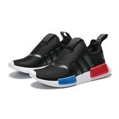 ADIDAS NMD 360 I 黑 紅 藍 休閒鞋 小童 (布魯克林) EE6355