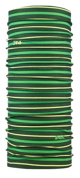 【線上體育】雙面款多功能機能頭巾 黃綠色帶, OS