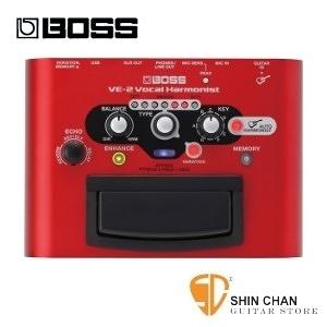 BOSS VE-2 錄音室等級人聲合音效果器【VE2/Vocal Harmonist】