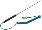 TECPEL 泰菱 TPK-03-0.4M K型探針式熱電偶 溫度測線 液體溫度棒 插入式 溫度測棒 40CM
