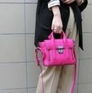 ■專櫃66折■全新真品■ 3.1 Phillip Lim 全新真品 Mini Pashli 小牛皮兩用包 桃粉色 鎗色灰銀扣