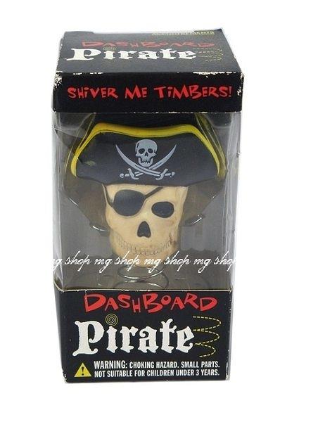 PIRATE DASHBOARD骷顱頭彈簧擺飾(含運價)