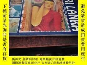 二手書博民逛書店SRI罕見LANKA(斯里蘭卡,16開英文原版畫冊)Y10118