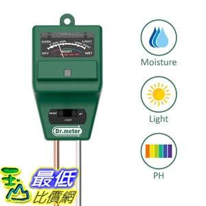 [8美國直購] 土壤水分測定儀 Dr.meter S30PLUS Upgrade 3 in 1 Soil Moisture Meter Sunlight PH Acidity Soil