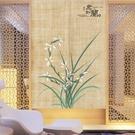 中式門簾布藝中國風禪意