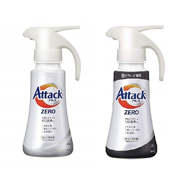 日本【花王KAO】Attack Zero單手按壓式濃縮洗衣精