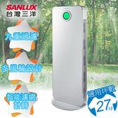 【SANLUX 台灣三洋】27坪負離子空氣清淨機 ABC-R27