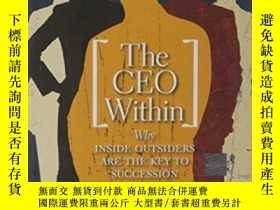 二手書博民逛書店The罕見Ceo WithinY256260 Joseph L. Bower Harvard Business