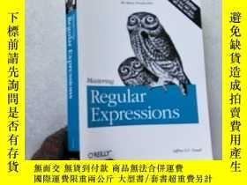 二手書博民逛書店Mastering罕見Regular Expressions 3
