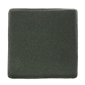 HOLA 素色雅織滾邊記憶棉坐墊40x40x4cm 墨綠