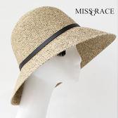 618好康鉅惠亞麻大檐遮陽帽草帽太陽帽漁夫帽子防曬折疊
