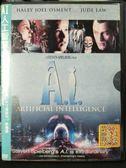 影音專賣店-U02-139-正版DVD-電影【AI人工智慧】-哈利喬奧斯蒙 裘德洛 法蘭西絲歐康娜