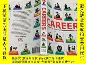 二手書博民逛書店Careers:the罕見graphic guide to finding the perfect job for