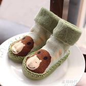 寶寶鞋襪嬰兒學步襪加厚兒童襪子軟底地板襪室內襪鞋0-1-3歲 歐韓時代