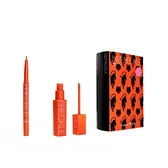FreshO2XMIZFRECKLE-雀斑唇控禮盒(珊瑚暖橘唇釉5g+蜜糖可可唇線筆0.5g)