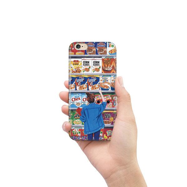 iPhone手機殼 經典限量款。可掛繩 零食女孩 德國軟殼 蘋果iPhone8X/iPhone7/6Plus 手機殼