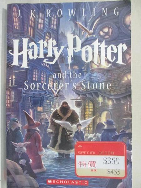 【書寶二手書T1/一般小說_GML】Harry Potter and the Sorcerer s Stone_J.K. Rowling