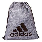 Adidas-  Burst 前後雙用背袋包(灰/黑色)