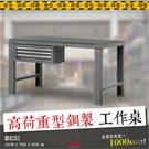 【樹德專業工作桌】WHC5I 高荷重型鋼製工作桌 鐵桌 工作台 工業 配件桌 工作桌板 桌子 電器 工廠