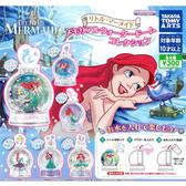 全套6款【日本正版】小美人魚 水晶瓶 扭蛋 轉蛋 瓶中造景 水晶球 雪花球 艾莉兒 TAKARA TOMY - 886355