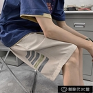 夏天短褲男薄款港風寬鬆休閒五分褲韓版學生ins潮牌潮流運動【全館免運】