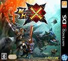 N3DSLL-二手片 魔物獵人X 日文版 PLAY-小無電玩