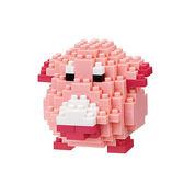 《 Nano Block 迷你積木 》【 神奇寶貝 系列 】NBPM-034 吉利蛋 ╭★ JOYBUS玩具百貨