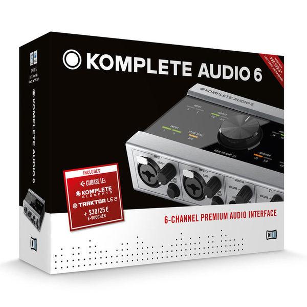 【金聲樂器】Komplete Audio 6 錄音介面 Native Instrument NI AUDIO6