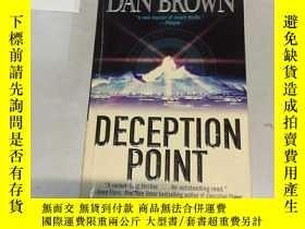 二手書博民逛書店英文原版:Deception罕見PointY182979 Dan