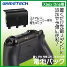 XBOXONE 專用 日本GAMETECH 無線手把 控制器 同步充電電池 黑色款【玩樂小熊】