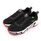LIKA夢 ARNOR 輕量時尚復古慢跑鞋 Q-RUN 瞬跑系列 黑白紅 03150 男