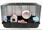倉鼠籠 倉鼠籠子用品 47特大基礎籠 刺猬金絲熊 隔板籠小房子豪華套餐TW【快速出貨八折鉅惠】