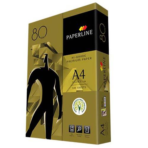 【影印紙】PAPERLINE金牌 80P A4影印紙 (5包/箱)