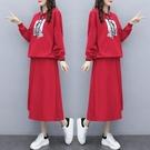 套裝裙上衣衛衣半身裙中大尺碼XL-5XL...